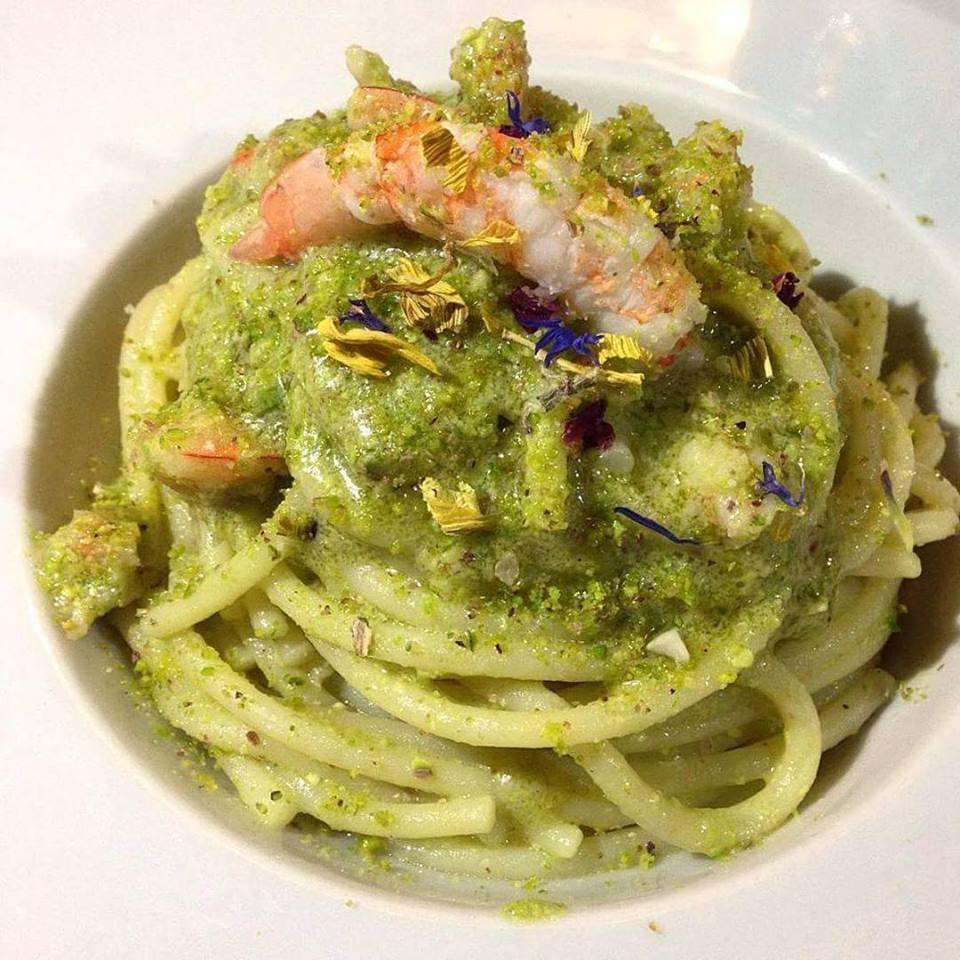 Spaghetti Al Pistacchio E Gamberi Rossi Fulvio E Le Sue Ricette