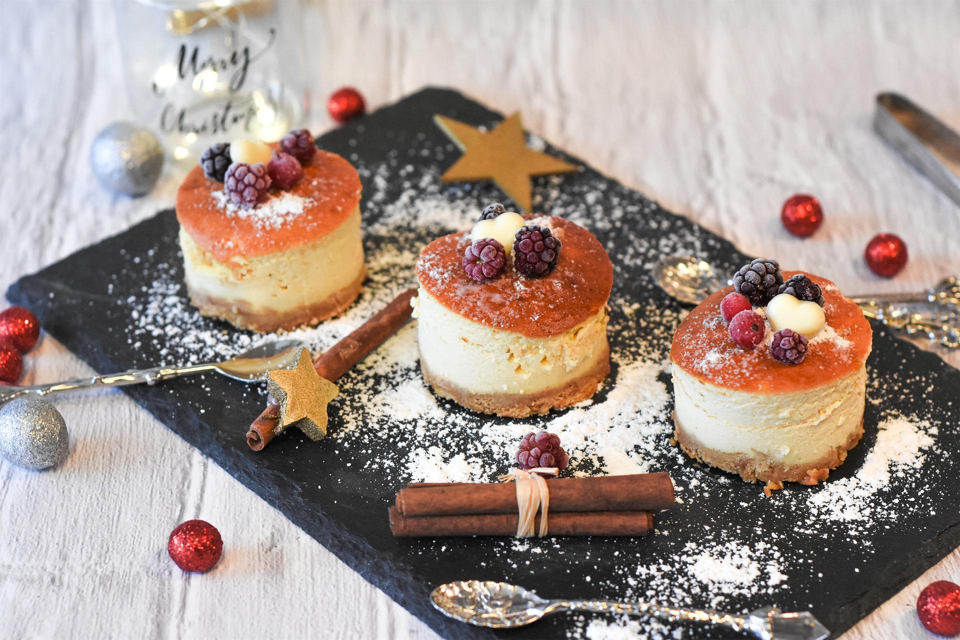 mini cheesecake more e lamponi
